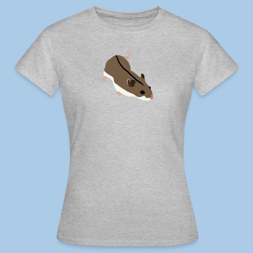 T-paita normaalilla kiinankääpiöhamsterilla - Naisten t-paita
