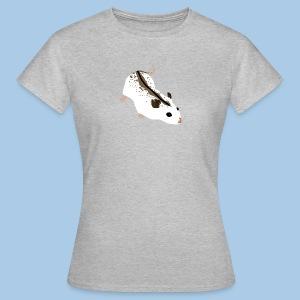 T-paita laikukkaalla kiinankääpiöhamsterilla - Naisten t-paita