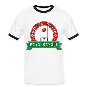 Basque Sport - T-shirt contrasté Homme
