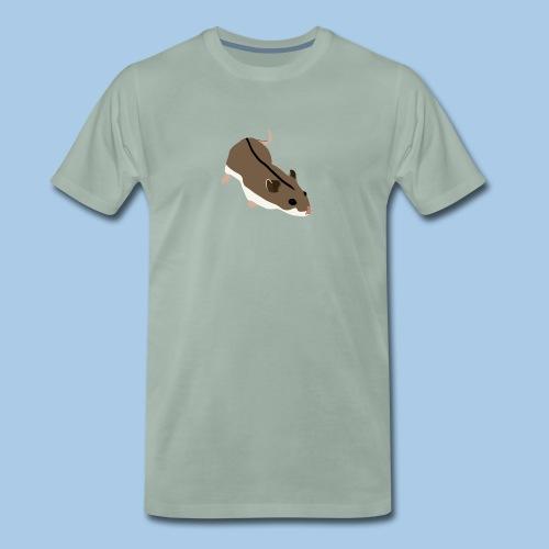 Miesten t-paita kiinankääpiöhamsterilla - Miesten premium t-paita