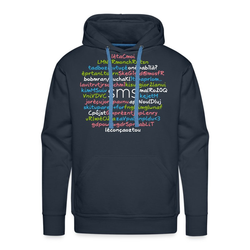 SMS - 24 citations - Sweat-shirt à capuche Premium pour hommes