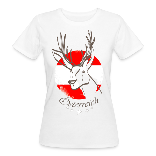 Österreich - Frauen Bio-T-Shirt