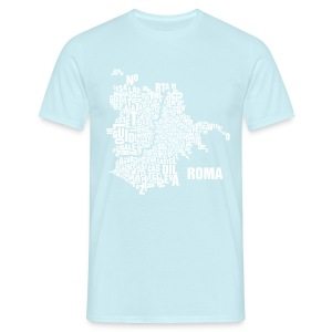 Rome Shirt Azur - Male - Männer T-Shirt
