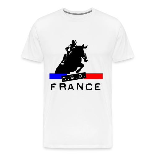 CSO FRANCE - T-shirt Premium Homme