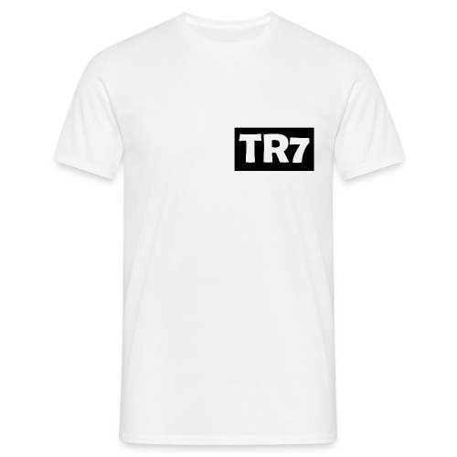 TR7 Plain White T-Shirt - Men's T-Shirt