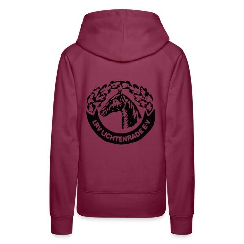 Kapuzenpulli mit LRV-Logo und Schriftzug vorn - Frauen Premium Hoodie