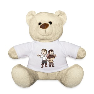 PELUCHE OURS GALEJADE & CALEMBOUR - Nounours