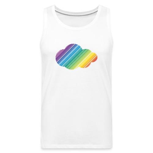 Kyrkan på West Pride: Rainbow Cloud tanktopp - Premiumtanktopp herr