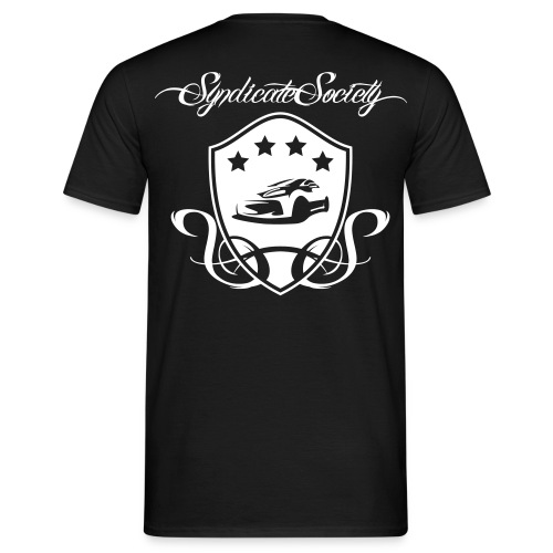Männer T-Shirt Wappen Groß - Männer T-Shirt