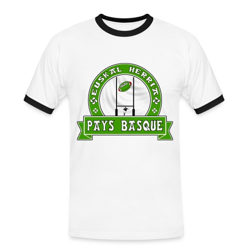 Pays Basque sport - T-shirt contrasté Homme