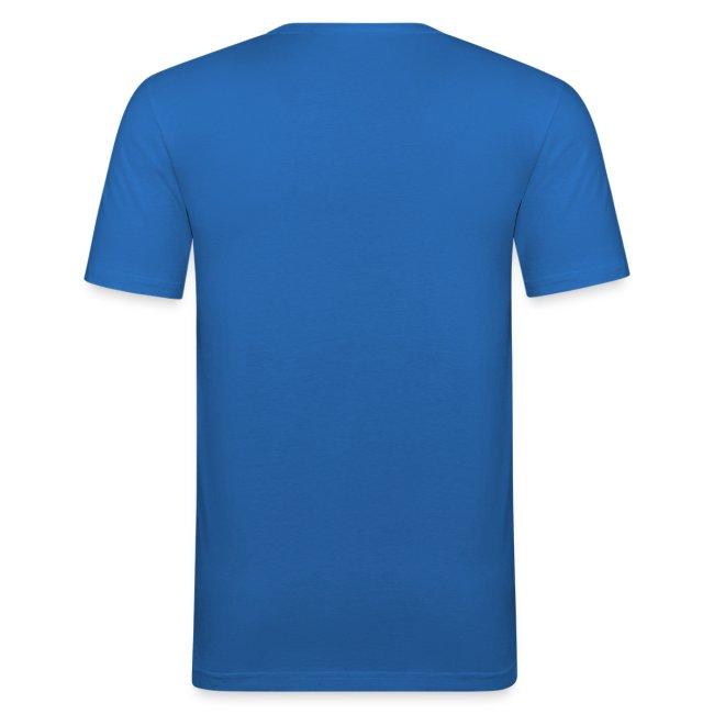 Aresoneia-Silhouetten (Weiß) - Herren-Slim-Fit-Shirt