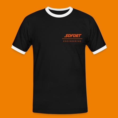 SOFORT Men - Contrast Engineering - Männer Kontrast-T-Shirt