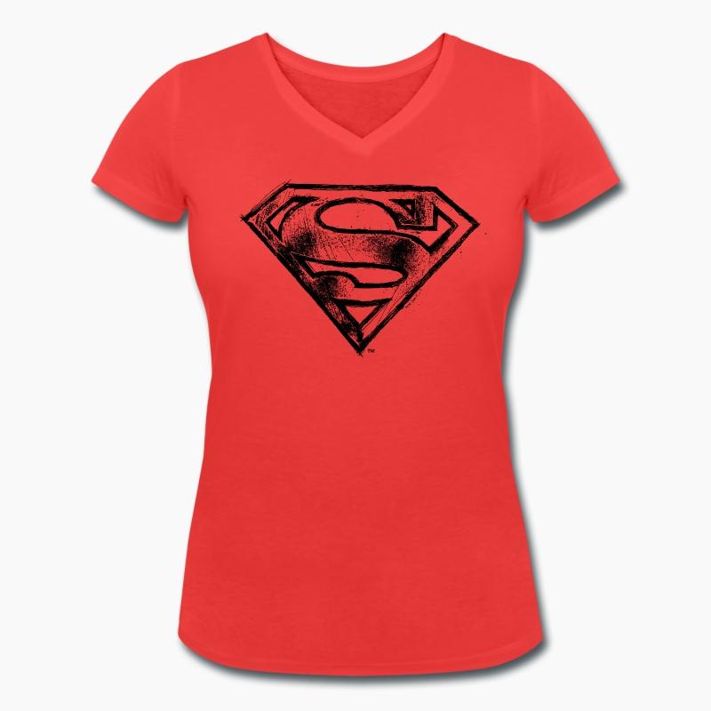 t shirt superman logo tee shirt femme spreadshirt. Black Bedroom Furniture Sets. Home Design Ideas