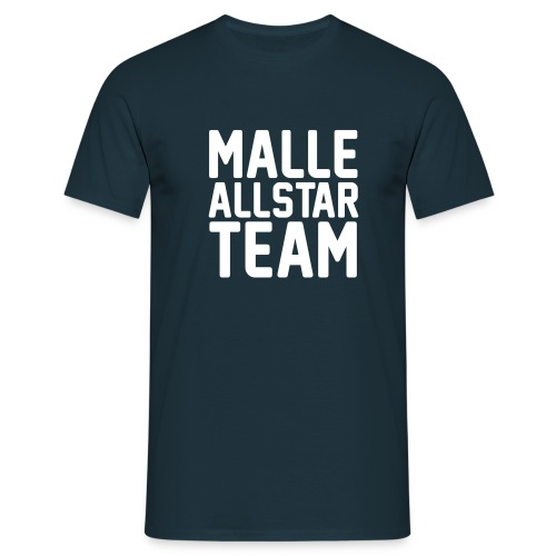 Malle Allstar Team Black Edition - Männer T-Shirt