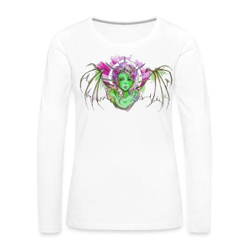 Tagtraum Tattoo Sweet Demon - Frauen Premium Langarmshirt