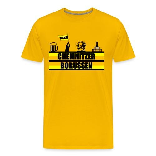 Premium CB 11 gelb - Männer Premium T-Shirt