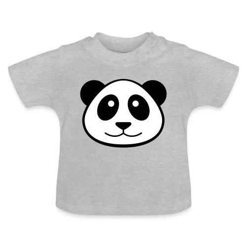 Panda Face Baby T-Shirt - Baby T-Shirt