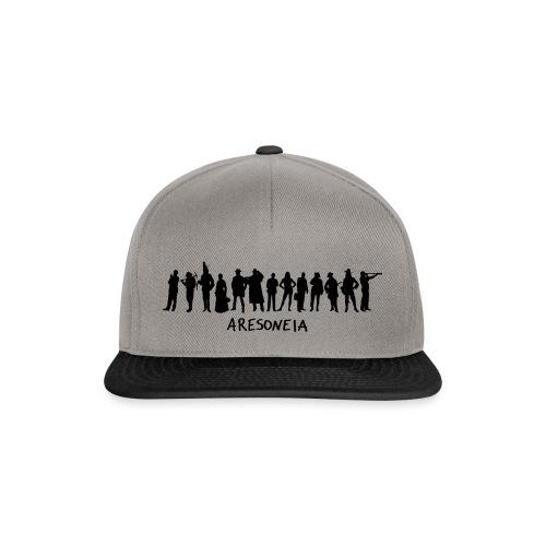 Aresoneia-Silhouetten (Schwarz) - Kappe - Snapback Cap