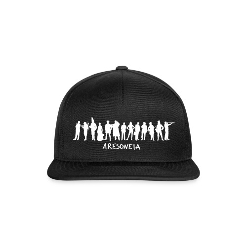 Aresoneia-Silhouetten (Weiß) - Kappe - Snapback Cap