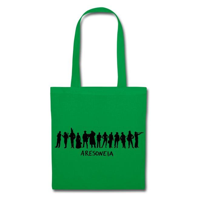 Aresoneia-Silhouetten (Schwarz) - Tasche