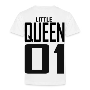 Kinder Premium T-Shirt - LITTLE QUEEN 01 - Kinder Premium T-Shirt