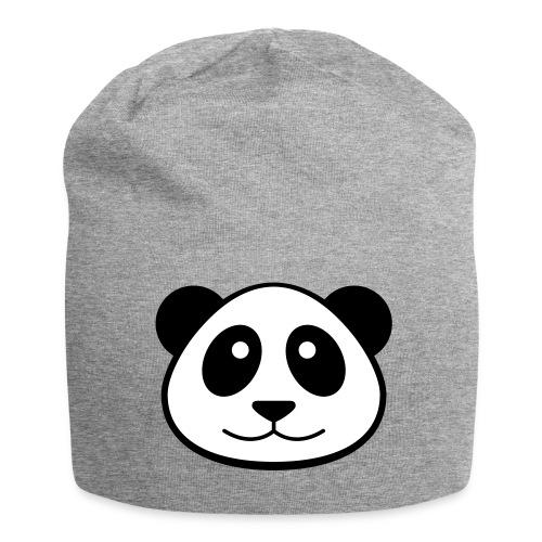 Panda Face Beanie - Jersey Beanie