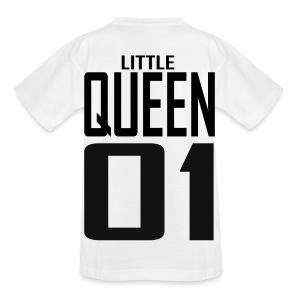 Kinder T-Shirt -  LITTLE QUEEN 01 - Kinder T-Shirt