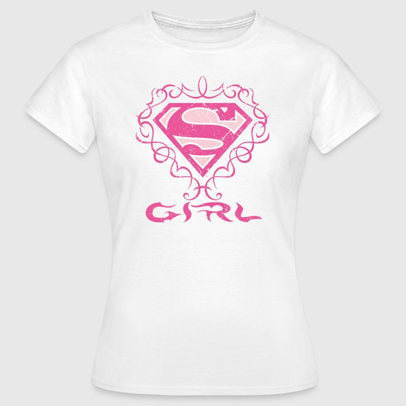 Superman 'S-Shield Girl' Women T-Shirt - T-shirt dam