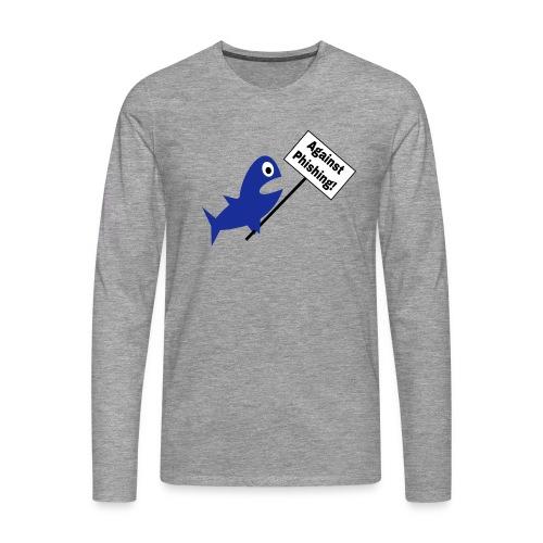 Fisch Nerd Shirt - Männer Premium Langarmshirt