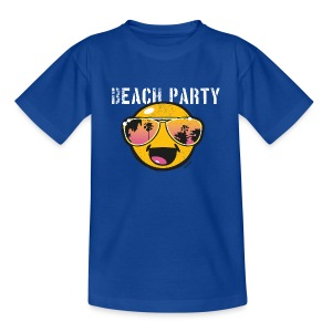 Smiley World Beachparty Teenager T-Shirt - Teenager T-Shirt