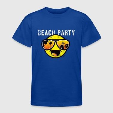 Smiley World Beachparty Teenager T-Shirt - Teenager T-Shirt