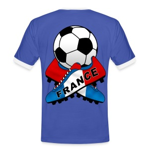 Football France 07 - Men's Ringer Shirt