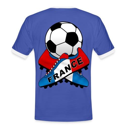 Football France 07 - Men's Ringer Shirt
