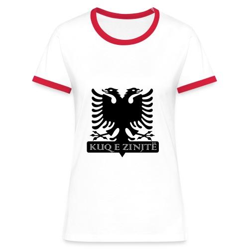 Albanien - Frauen Fan T-Shirt - Frauen Kontrast-T-Shirt