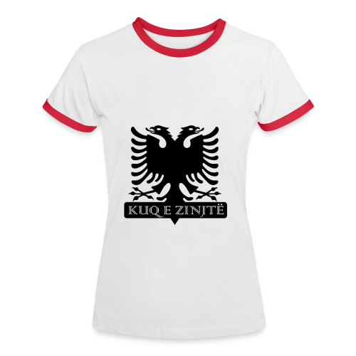 Albanien - Frauen Fan T-Shirt - Frauen Kontrast-T-Shirt