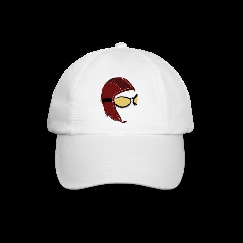 White Aviator Cap  - Cappello con visiera