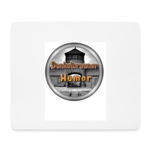 Dunkelbrauner Humor MausPad - Mousepad (Querformat)
