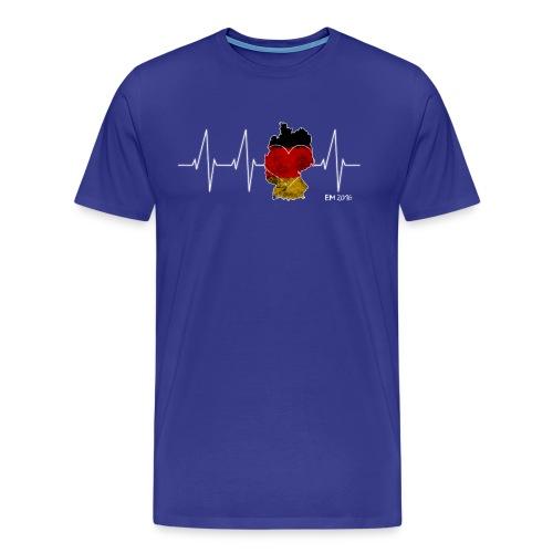Mein Herz schlägt für Deutschland - Männer Premium T-Shirt