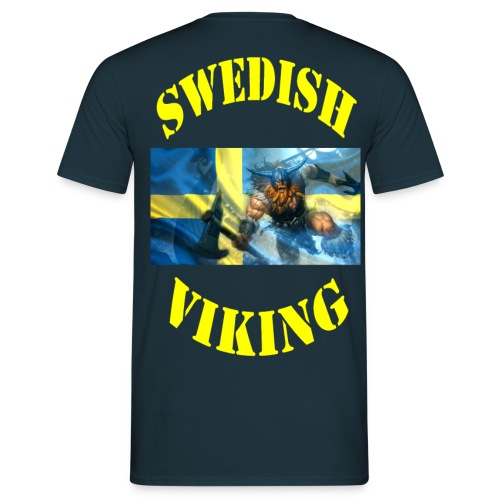 SWEDISH VIKING - T-shirt herr