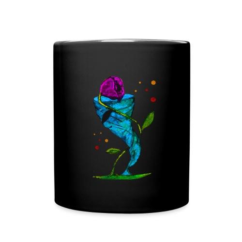 Blume & Sturm - Tasse / Schwarz - Tasse einfarbig