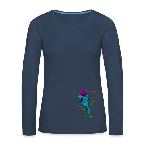 Blume & Sturm - Frauen Premium Langarmshirt / Beidseitig - Frauen Premium Langarmshirt