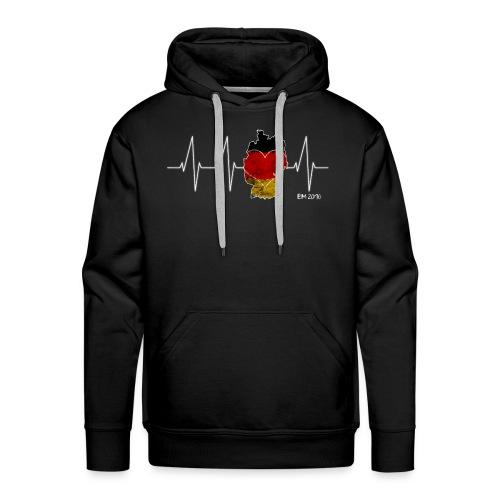Mein Herz schlägt für Deutschland - Männer Premium Hoodie