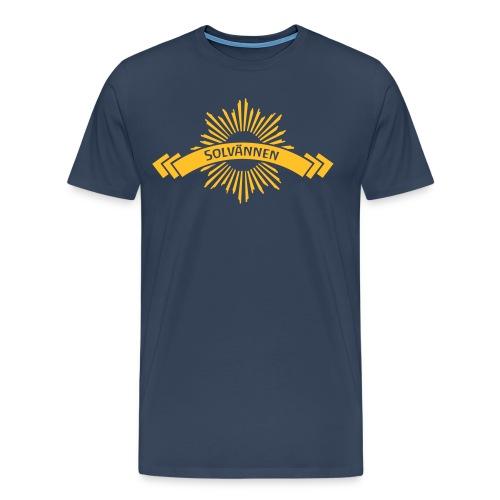 Solvännen - solblot ed - Men's Premium T-Shirt