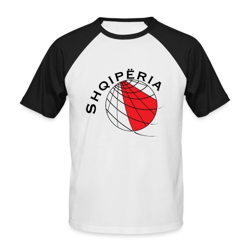T-SHIRT men Albania / Shqiperia - Men's Baseball T-Shirt