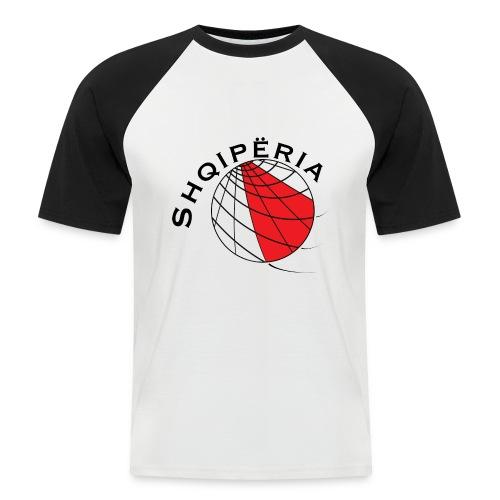 T-SHIRT men Albania / Shqiperia - Camiseta béisbol manga corta hombre