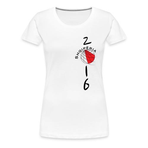 Heartbeat T-SHIRT Albania / Shqiperia women - Camiseta premium mujer