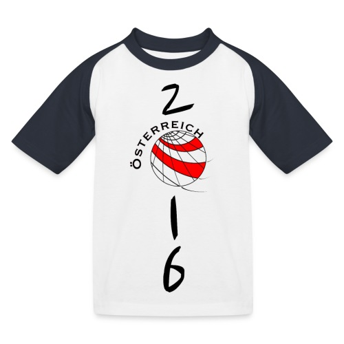 Child-SHIRT Austria / Österreich - Kids' Baseball T-Shirt