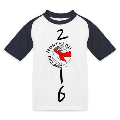 Child-SHIRT Northern Ireland - Kinder Baseball T-Shirt