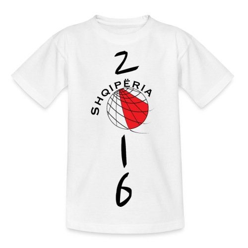 TeenSpirit T-SHIRT Albania / Shqiperia teenager - Camiseta adolescente