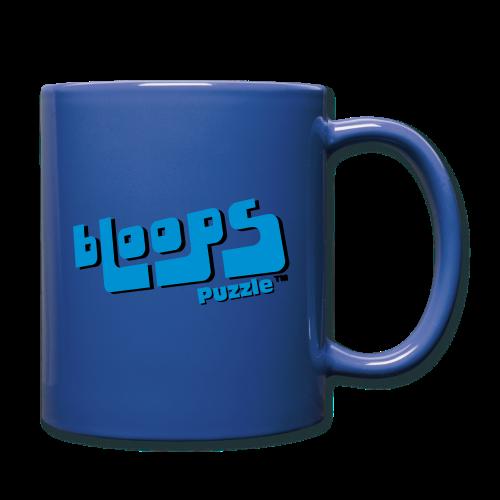 Full Colour Mug bLoops Puzzle (printed blue shadowed) - Full Colour Mug